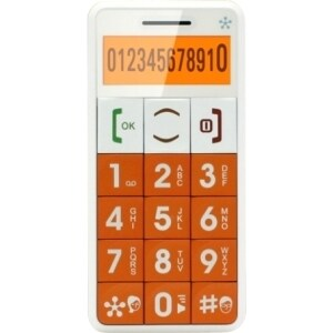 Just5 J509 Feature Phone - 2G - LCD - SIM-free - Orange
