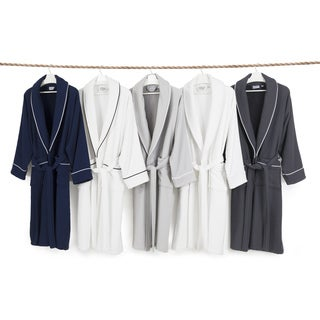 Authentic Hotel Spa Unisex Turkish Cotton Waffle Weave Terry Bath Robe|https://ak1.ostkcdn.com/images/products/5510094/P13291687.jpg?_ostk_perf_=percv&impolicy=medium