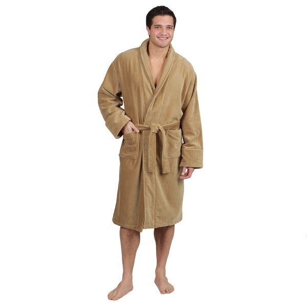 f77993331c Shop Men s Cotton Terrycloth Bath Robe - On Sale - Free Shipping ...