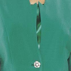 Divine Apparel Women's 3-piece Skirt Suit - Thumbnail 2