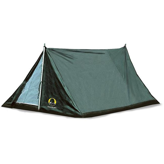 Shop Stansport Scout 2 Person Forest Green Tan Nylon Tent