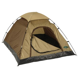 Stansport Olive-green Buddy Hunter Two-pole Quick-clip Nylon Dome Tent
