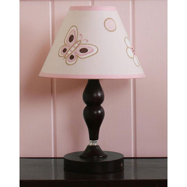 Geeny Pink Butterfly Lamp Shade