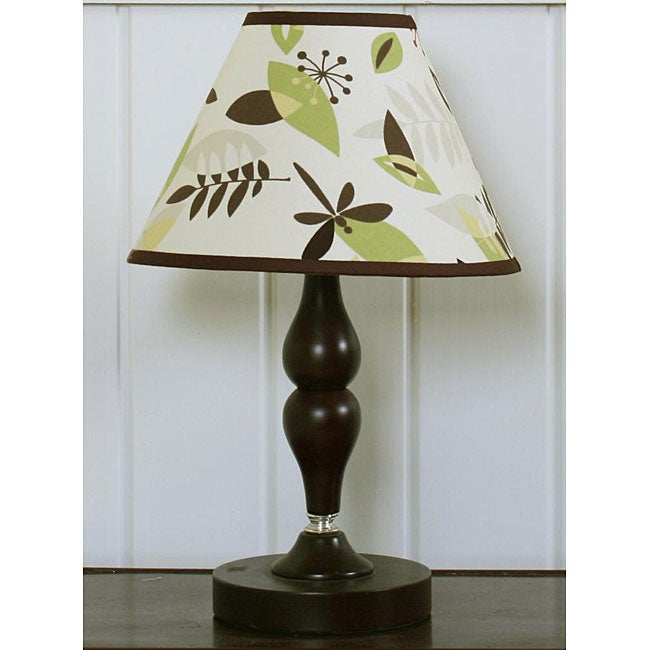 Geeny Autumn Leaves Lamp Shade, Blue
