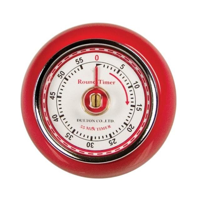 Retro Red Kitchen Timer