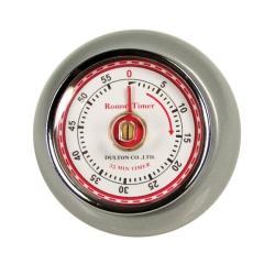 Retro Silver Kitchen Timer - Thumbnail 2