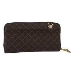 Rioni Women's ST-W020 Canvas Bi-fold Wallet - Thumbnail 1