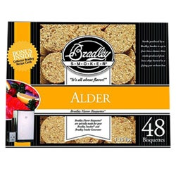 Bradley Smoker Alder Bisquettes (Pack of 48)