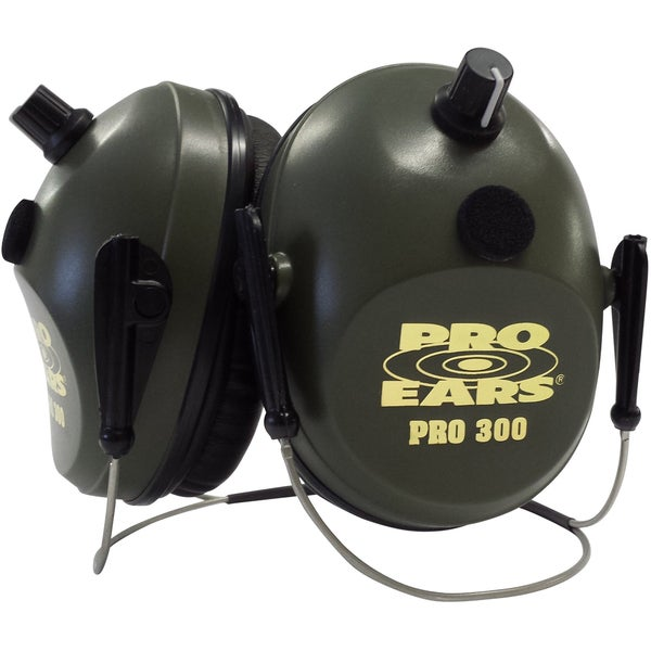 Pro 300 NRR 26 Green Behind-the-Head Noise-cancelling Muffs
