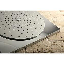 Claremont Square 12-inch Rain Showerhead/ 16-inch Shower Arm