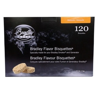 Bradley Smokers Mesquite Bisquettes (Case of 120)