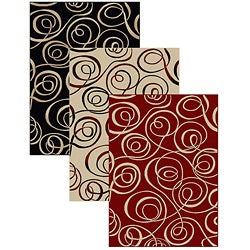 Admire Home Living Virginia Ribbon Abstract Rug (3'3 x 4'11)