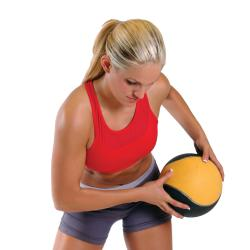 CAP Barbell Medicine Ball Set with Spinal Rack - Thumbnail 1