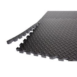 CAP Barbell Anti-Microbial Puzzle-like Floor and Gym Mats