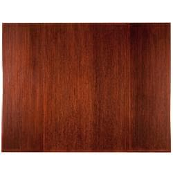 Eco Bamboo Supreme Rectangular Cherry Chair Mat (60 x 47)