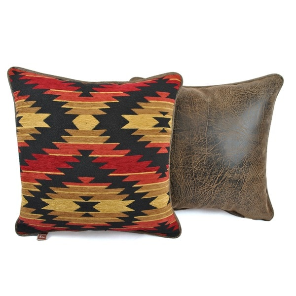 Aztec Cinnamon Decorative Pillows (Set of 2)