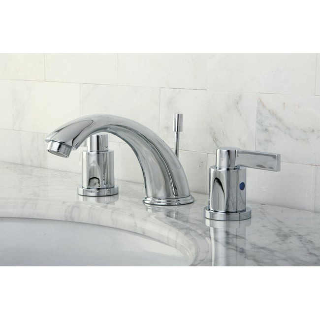 Bathroom Faucets Chrome : NuvoFusion Chrome Widespread Bathroom Faucet - Free Shipping Today ...