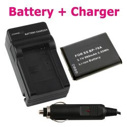 INSTEN Li-ion Battery/ Compact Battery Charger for Samsung BP-71A