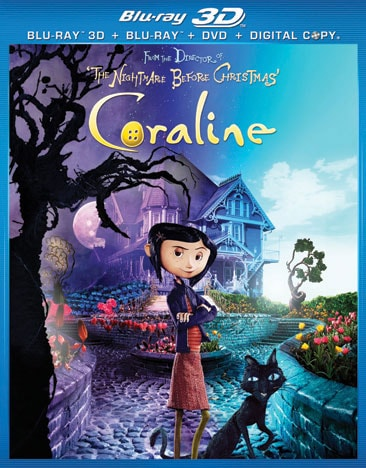 Coraline - 3D with DVD Copy (Blu-ray Disc)
