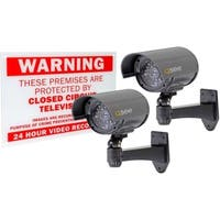 Q-See - QSSIGD2 - 2-PACK NON-OPERATIONAL DECOY BULLET SECURITY CAMERA