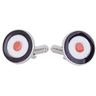 Cuff Daddy Rhodium Mod Cufflinks