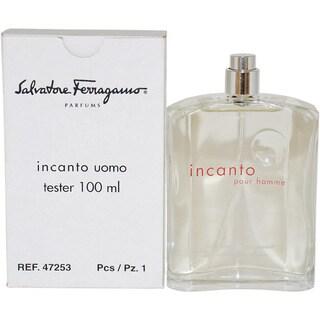 Salvatore Ferragamo 'Incanto' Men's 3.4-ounce Eau de Toilette (Tester) Spray