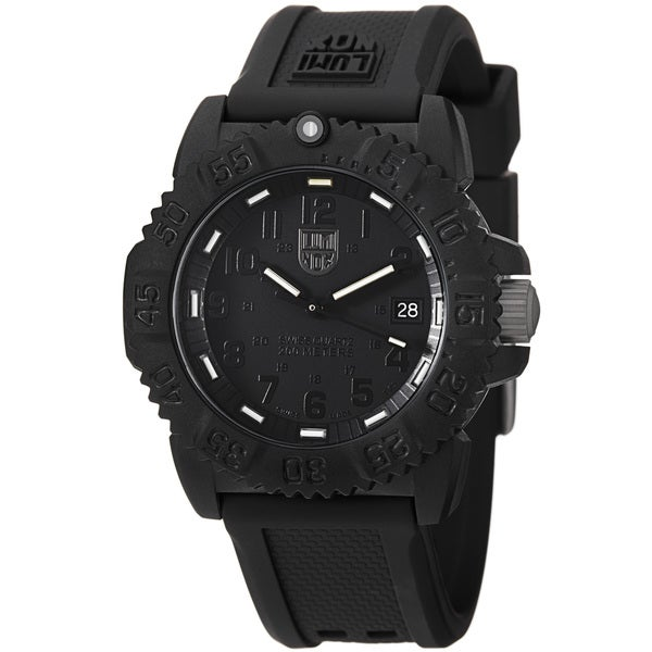 Luminox 'Colormark' Blackout Watch