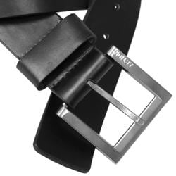 Daxx London Men's Cowhide Leather Belt - Thumbnail 1