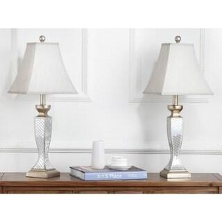 Safavieh Lighting 28-inch Mirror Mosaic Table Lamps (Set of 2)