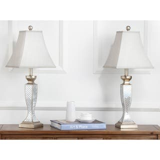 Safavieh Lighting 28-inch Mirror Mosaic Table Lamps (Set of 2)|https://ak1.ostkcdn.com/images/products/5517614/P13297945.jpg?impolicy=medium