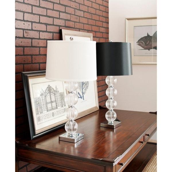 Safavieh Lighting 30-inch Glass Sphere Table Lamps (Set of 2)