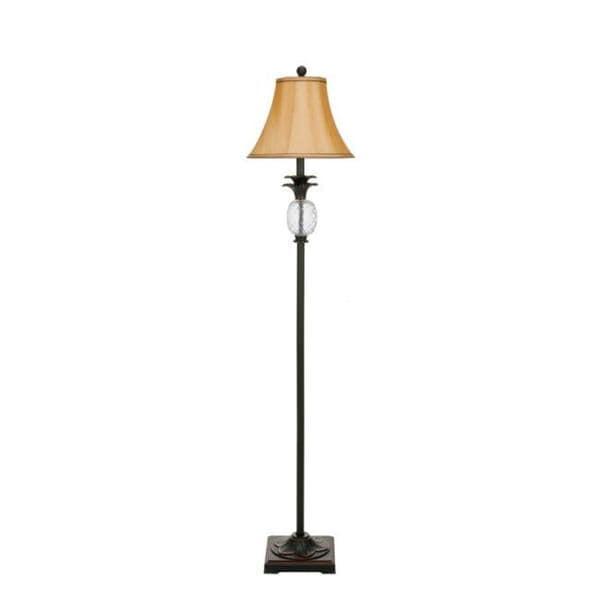 Safavieh Lighting 61-inch Antiqued Glass Pineapple Floor Lamp