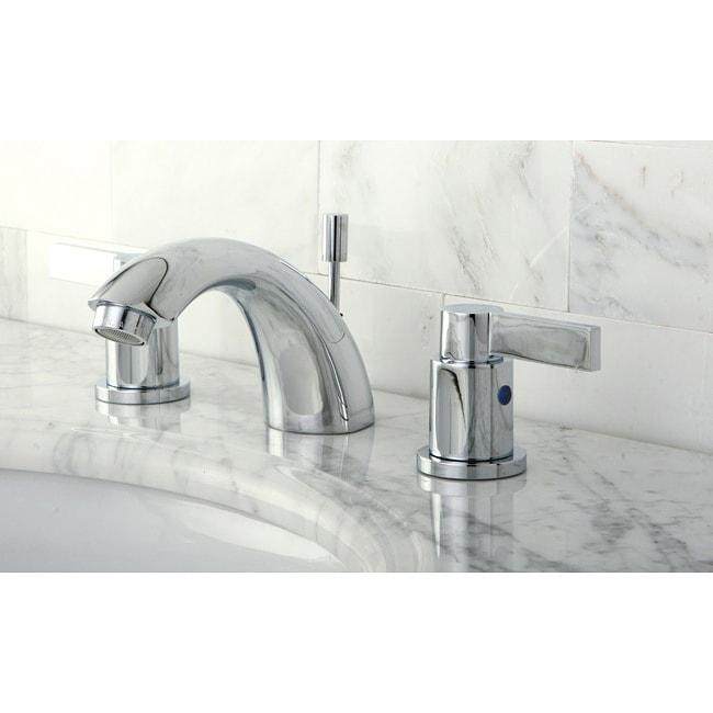 NuvoFusion Chrome Mini-widespread Bathroom Faucet