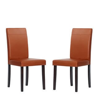 Warehouse of Tiffany Toffee Dining Room Chairs (Set of 2)
