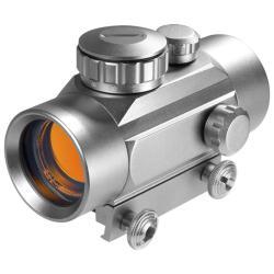 Barska Silver 30-millimeter Red Dot Scope with Integrated Mount