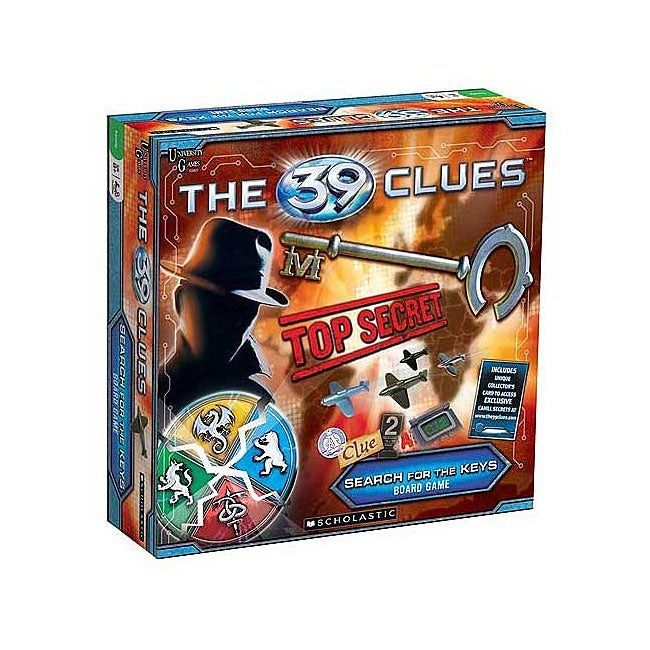 The 39 Clues: Search for the Keys Board Game