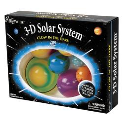 Glow-in-the-Dark 3-D Solar System Kit