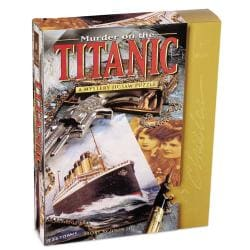 Murder on the Titanic 1000-piece Mystery Jigsaw Puzzle - Thumbnail 0