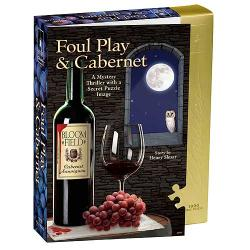 Foul Play and Cabernet Murder Mystery 1000-piece Jigsaw Puzzle - Thumbnail 0