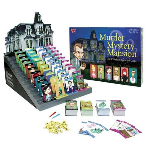 Murder Mystery Mansion Whodunnit Game