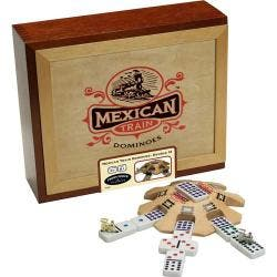 Mexican Train Dominoes Game|https://ak1.ostkcdn.com/images/products/5518118/73/113/Mexican-Train-Dominoes-Game-P13298336.jpg?impolicy=medium