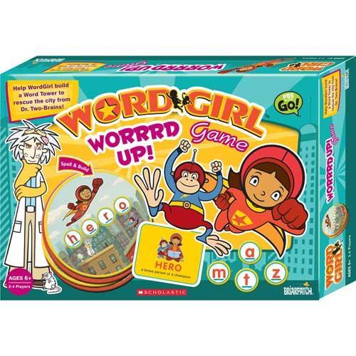 WordGirl Worrrd Up! Game