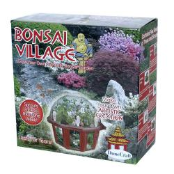 Bonsai Village Dome Terrarium - Thumbnail 0
