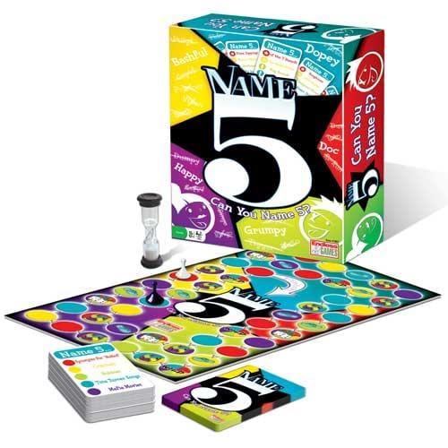 Name 5 Board Game