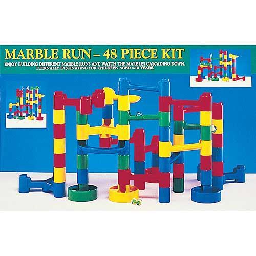 Plastic 48-piece Marble Run Kit