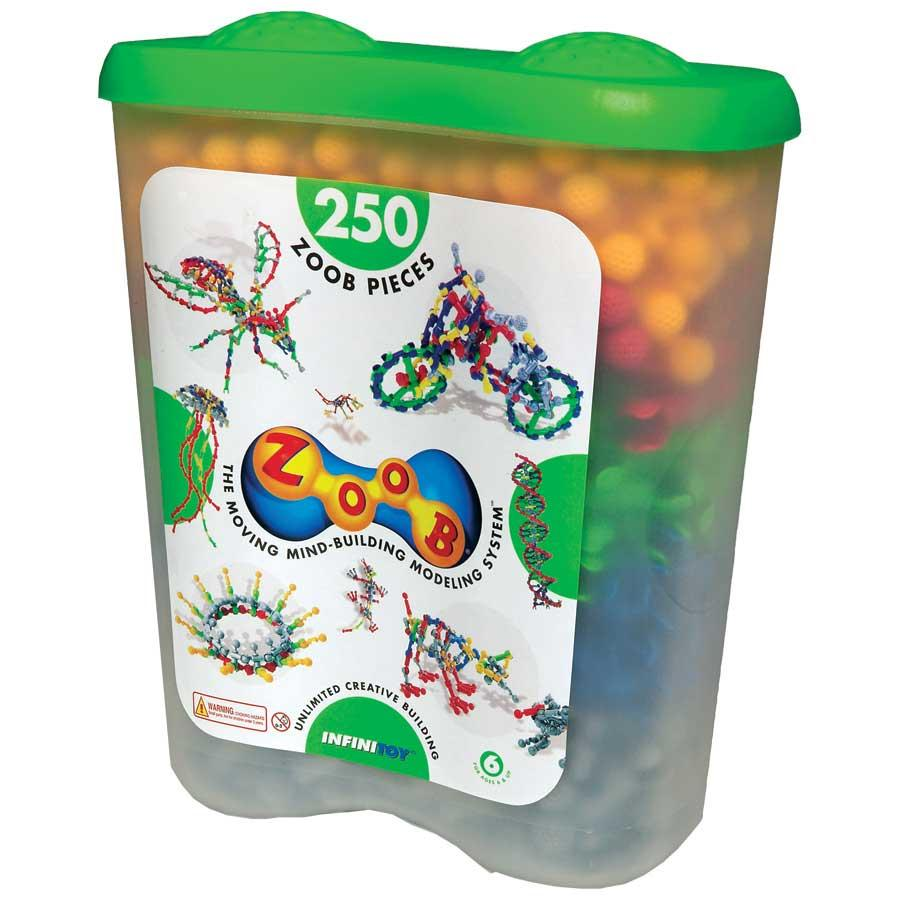 ZOOB 250-piece Building Set Tub - Thumbnail 0