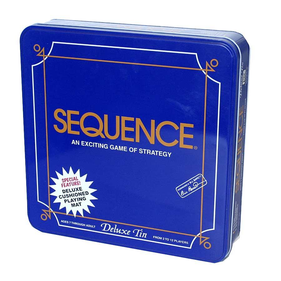 Sequence Game in a Tin