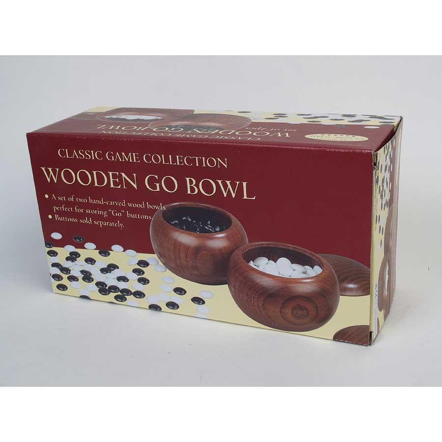 N Burlwood GO Bowls (Set of 2)