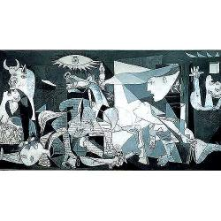 Guernica, Pablo Picasso Bold Anti-war 3000-piece Jigsaw Puzzle - Green/White