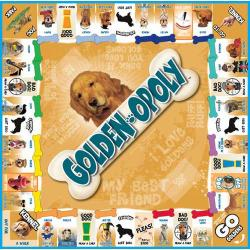 Golden Retriever-opoly Game